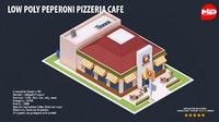cafe bench ac 3D