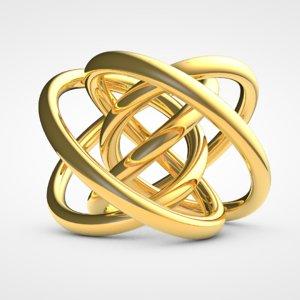 3D torus knot