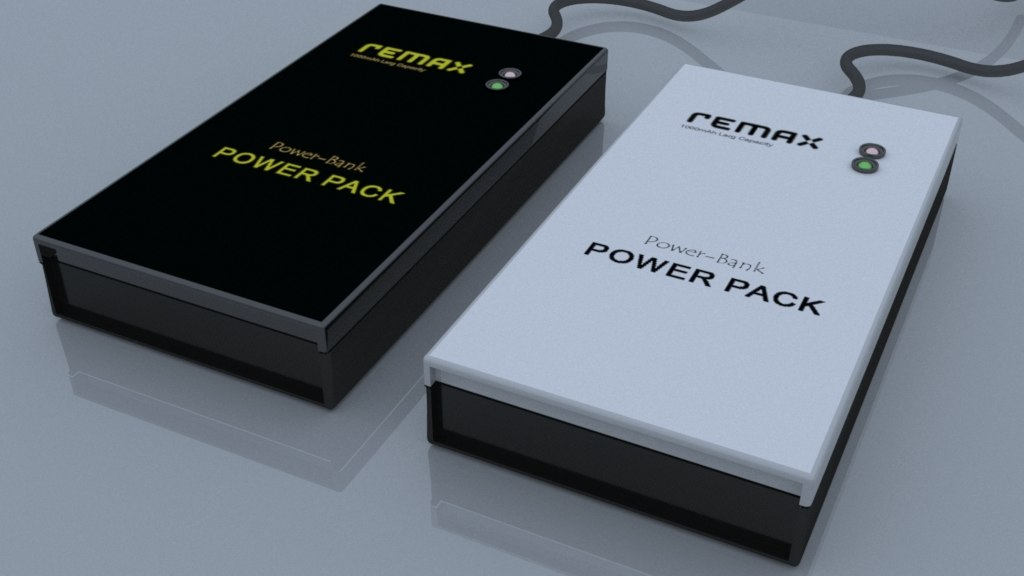 3D remax power bank