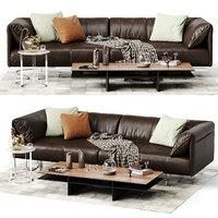modloft essex sofa 3D model