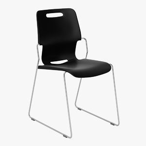 3D model touch chair