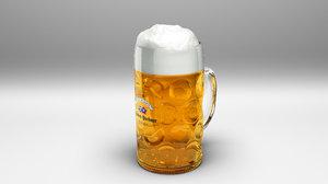 oktoberfest hacker-pschorr beer 3D model