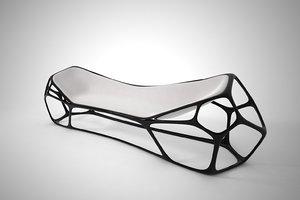 3D model furnishings furniture chair 02