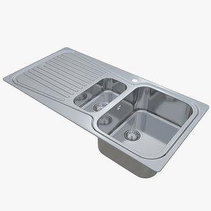 3D sink oulin ol-359 model