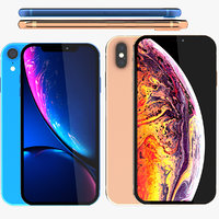 3D iphone xr xs