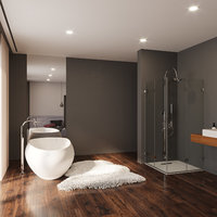 bahtroom bathtub 3D