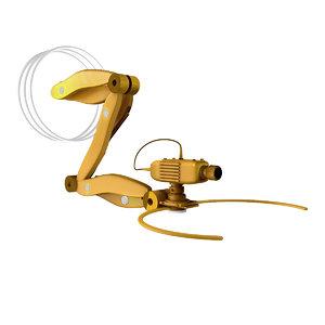 3D technological robot