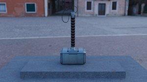 3D mjolnir - thor s hammer