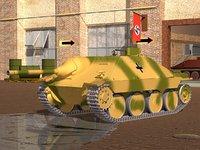 3D jagdpanzer hetzer