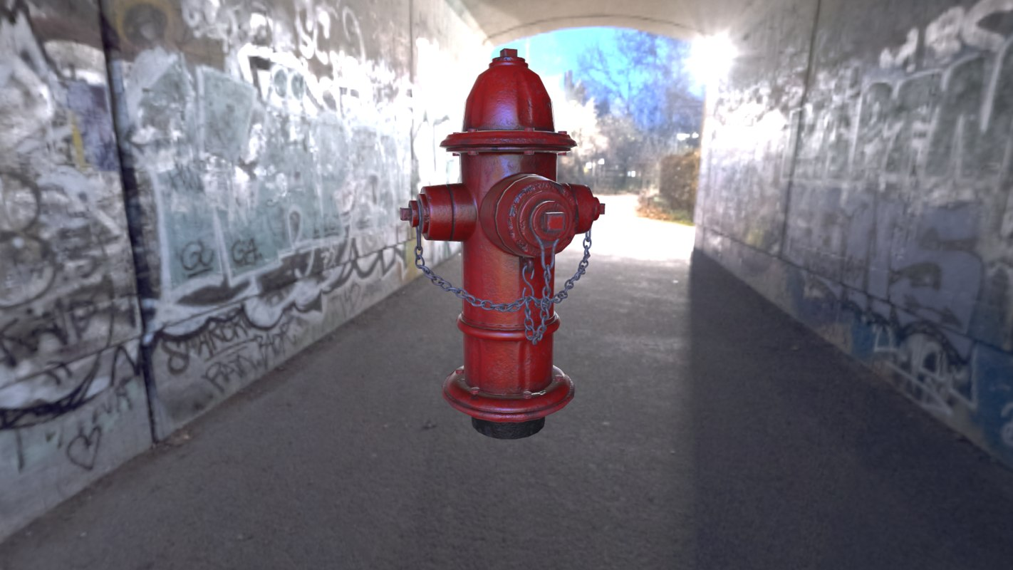 hydrant chains 3D