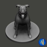 3D dog print