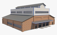 warehouse building model