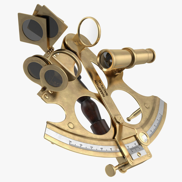 sextant navigation instrument model