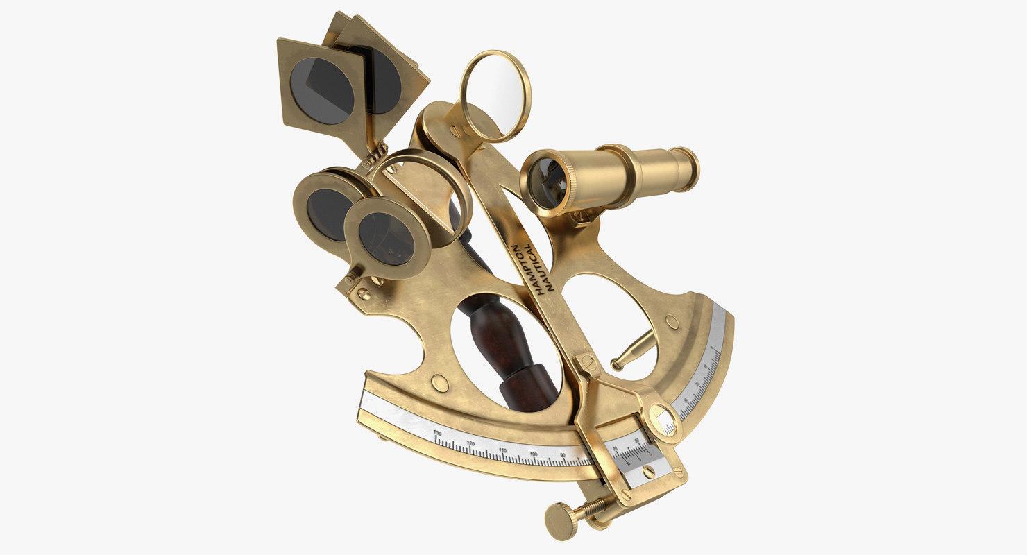 sextant navigation instrument model