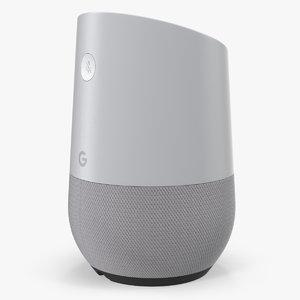 smart speaker google home 3D model