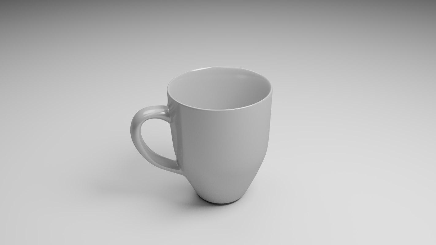 3D polly coffee mug