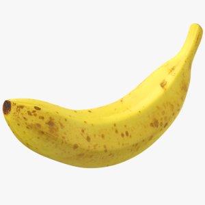 3D banana fruit
