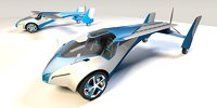 3D model flying aeromobil 3 0