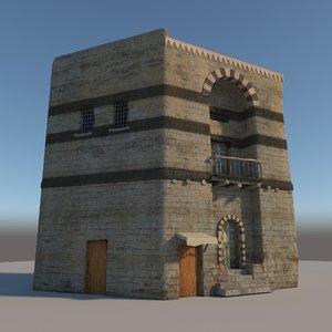 old house model