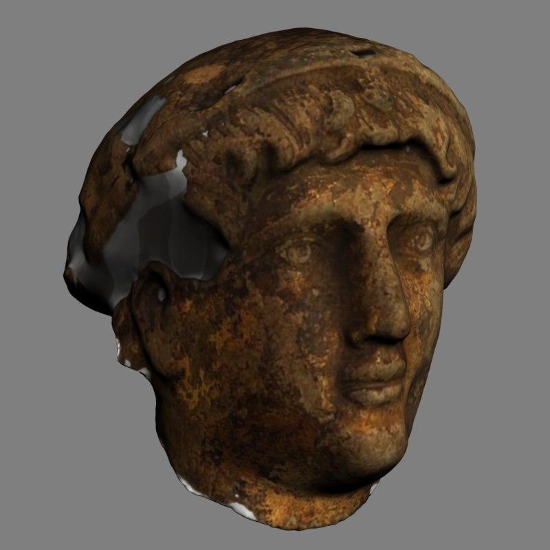 3D head constantine