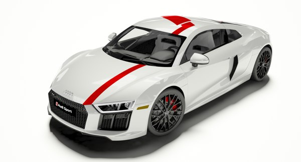 r8 coupe 2018 3D
