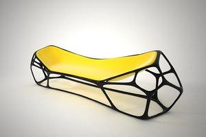 furnishings furniture chair 08 3D model