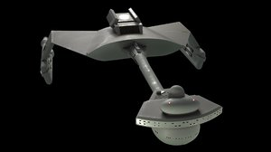 original star trek 3D model
