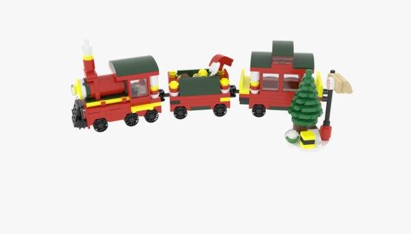 Lego Christmas Train.Lego Christmas Train