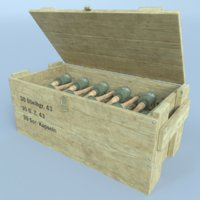3D german hand grenade box