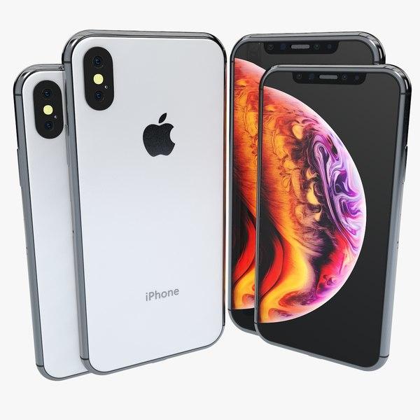 3D iphone xs element v2 model