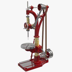 3D model camelback drill press