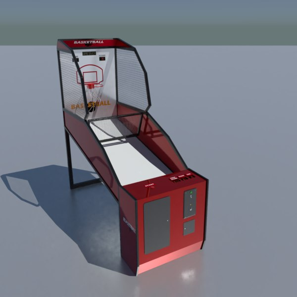 arcade basketball machine model