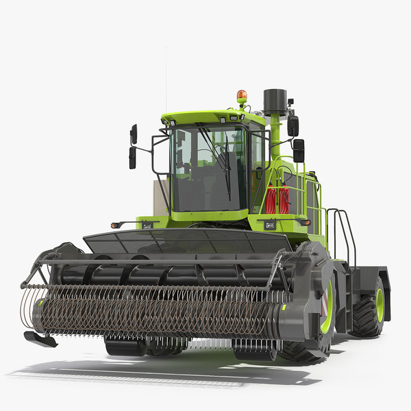 forage harvester generic clean 3D