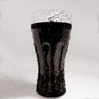 glass cola 3D model