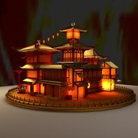 3D model chinese ancient