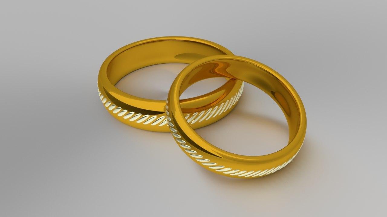 rings light 3D model