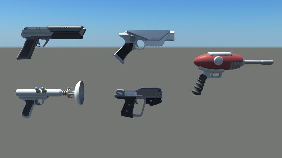 weapons gun 3D model