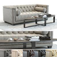 curations limited bergamo sofa 3D