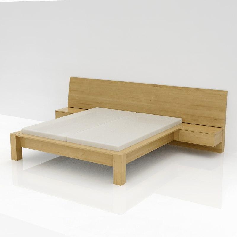 bed 180 200 3D model