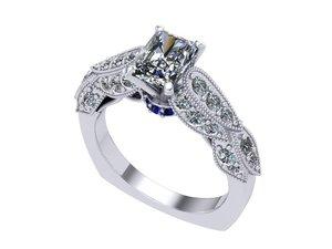 3D radiant ring