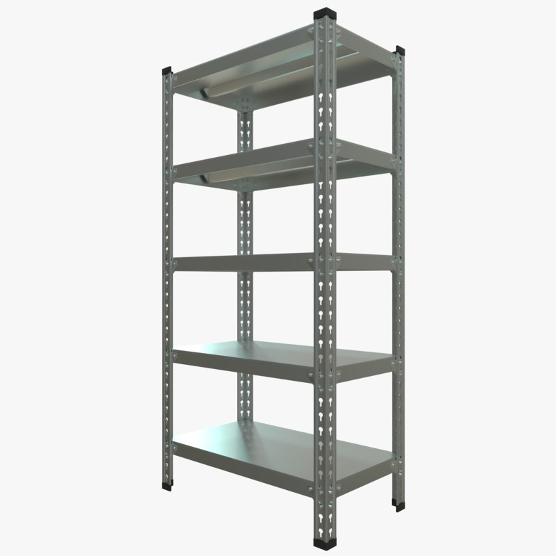 storage rack 3D
