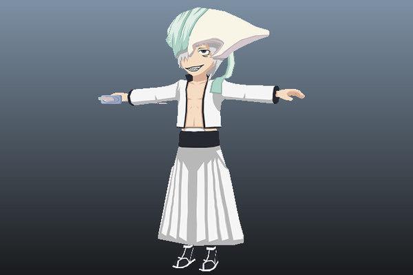 di roy bleach anime 3D