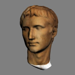 head augustus 3D model
