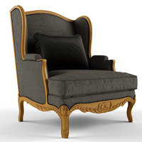 provasi fontaine armchair 3D model