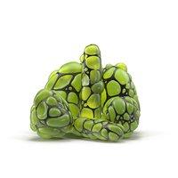 organic digital weirdness 3D model