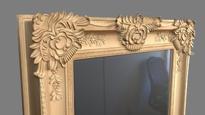 3D mirror fancy model
