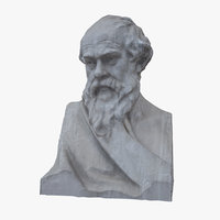 3D model socrate bust