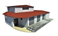 3D model cargo transfer center