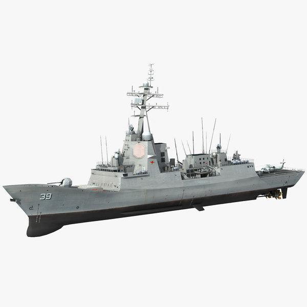hmas hobart class destroyer model