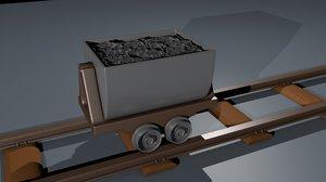 cart rails 3D